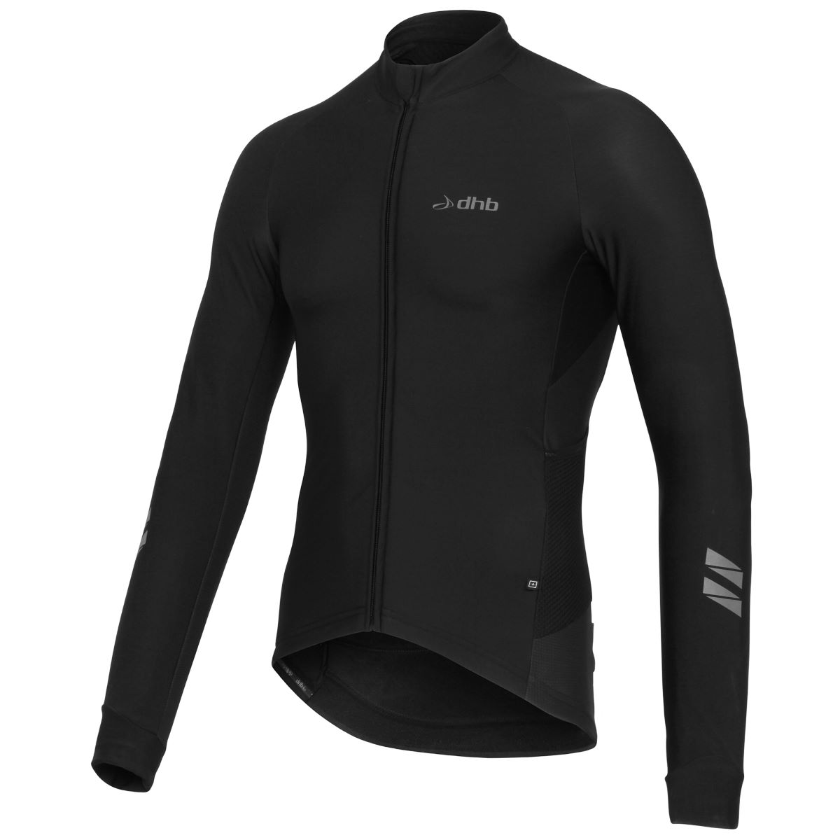 dhb ASV Roubaix Long Sleeve Jersey Black Edition