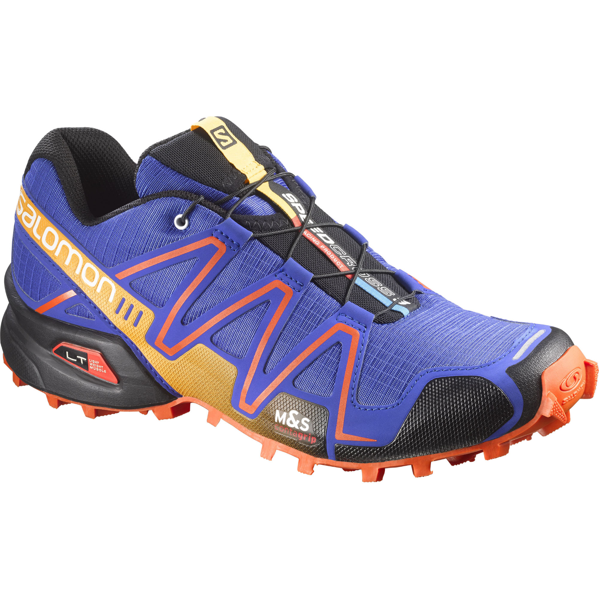 wiggle salomon speedcross 3 cobalt blue shoes aw15 offroad running shoes. Black Bedroom Furniture Sets. Home Design Ideas