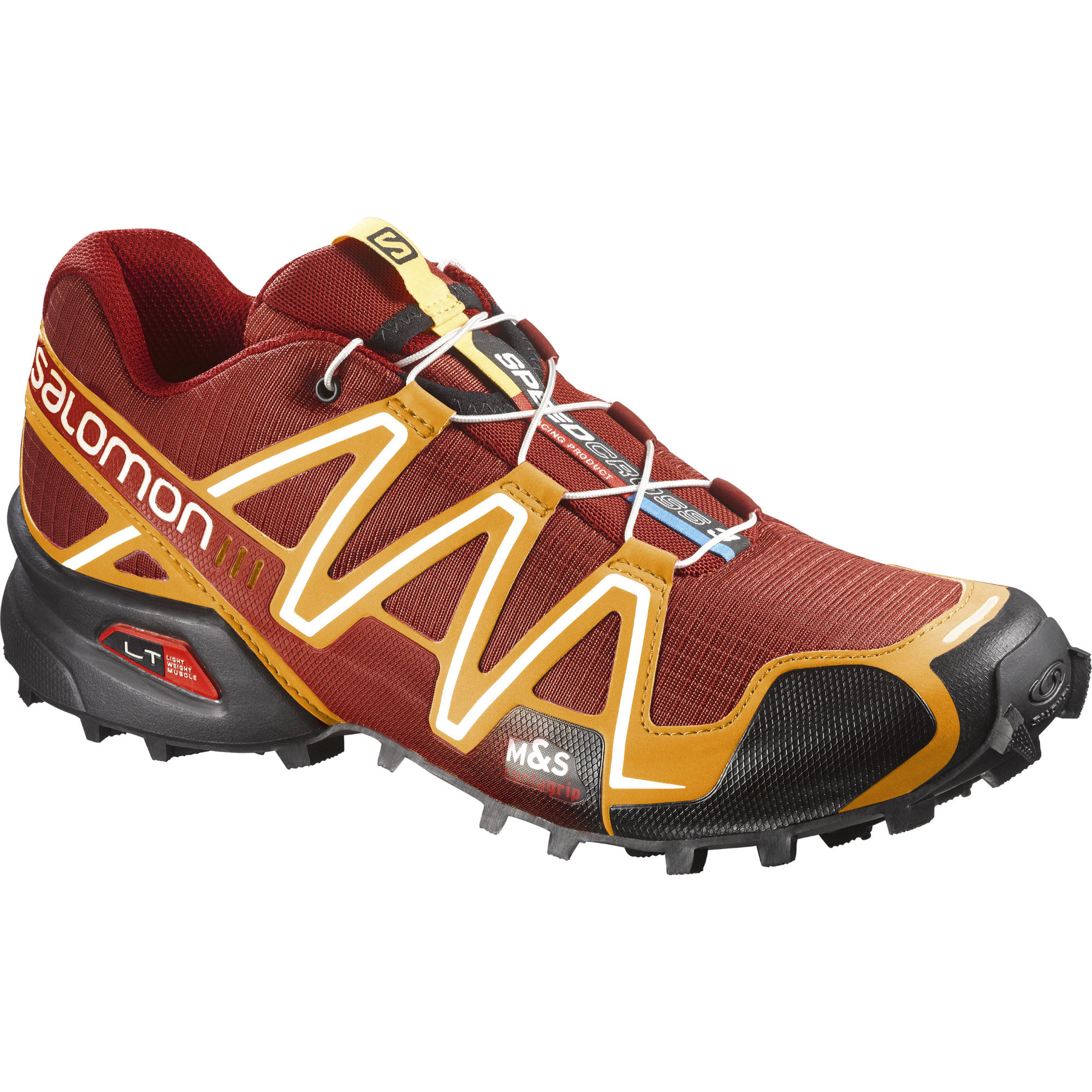 wiggle salomon speedcross 3 yellow shoes aw15 offroad running shoes. Black Bedroom Furniture Sets. Home Design Ideas