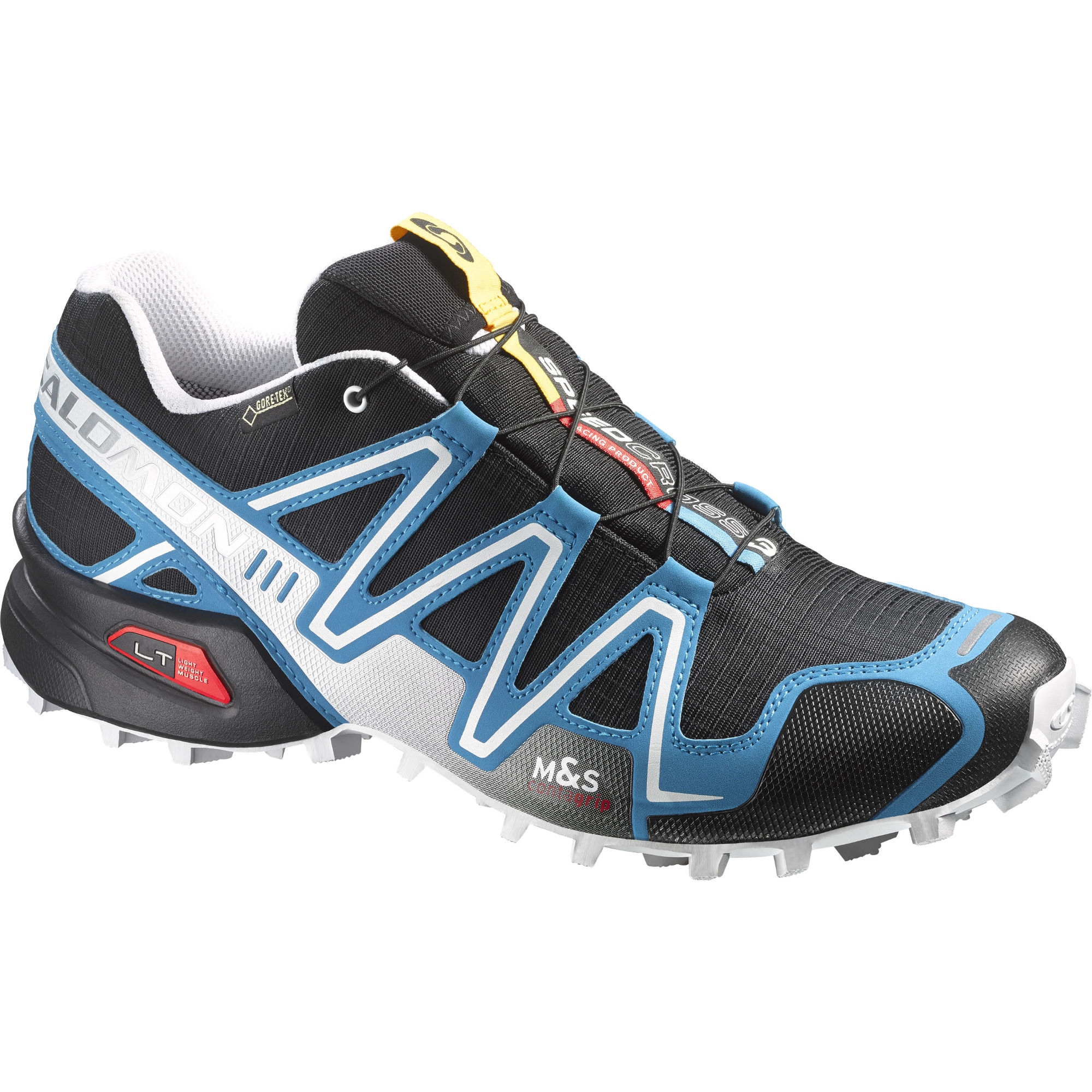 chaussures de running trail salomon speedcross 3 gtx black shoes aw15 wiggle france. Black Bedroom Furniture Sets. Home Design Ideas