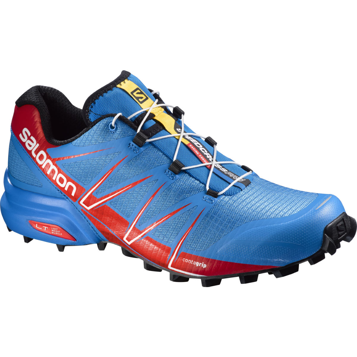 Chaussures Salomon Speedcross Pro (AH16) - 10 UK Blue/Red Chaussures de running trail