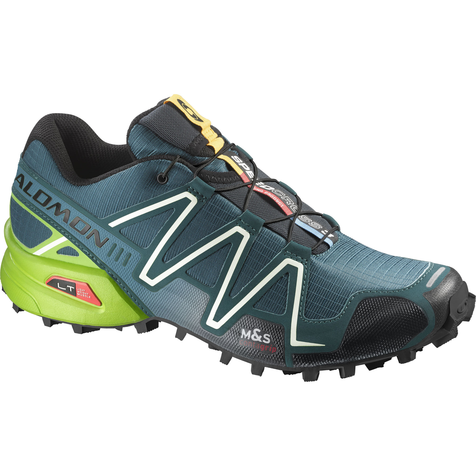 wiggle salomon speedcross 3 blue shoes ss15 offroad running shoes. Black Bedroom Furniture Sets. Home Design Ideas