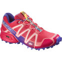 Salomon Womens Speedcross 3 Blue/Melon Shoes (AW15)