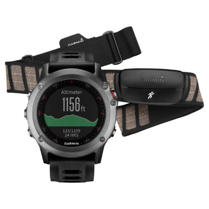 Garmin Fenix 3 GPS Watch Performance Bundle - AU