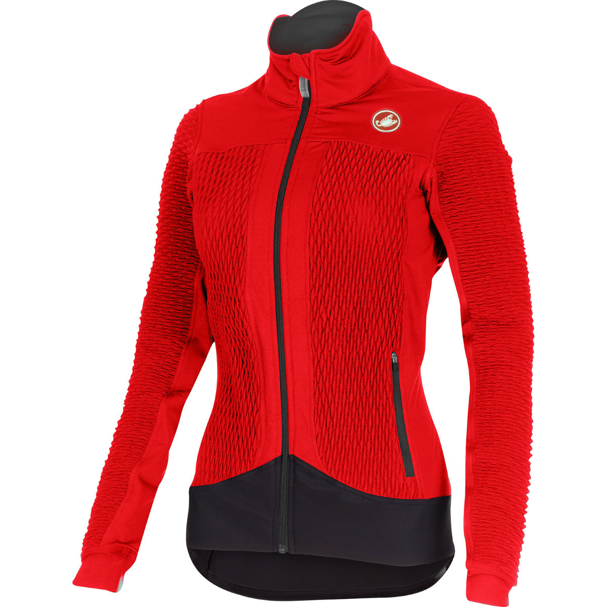 Castelli Women's Elemento 2 7x(Air) Jacket - Large Red