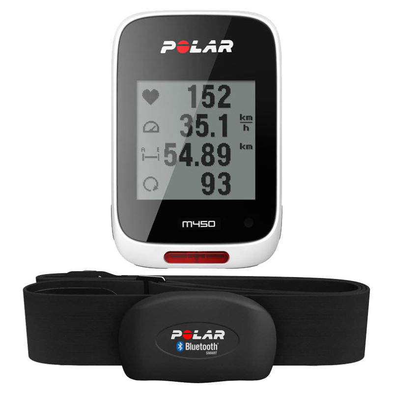 polar m450 gps fahrradcomputer mit herzfrequenzmesser. Black Bedroom Furniture Sets. Home Design Ideas