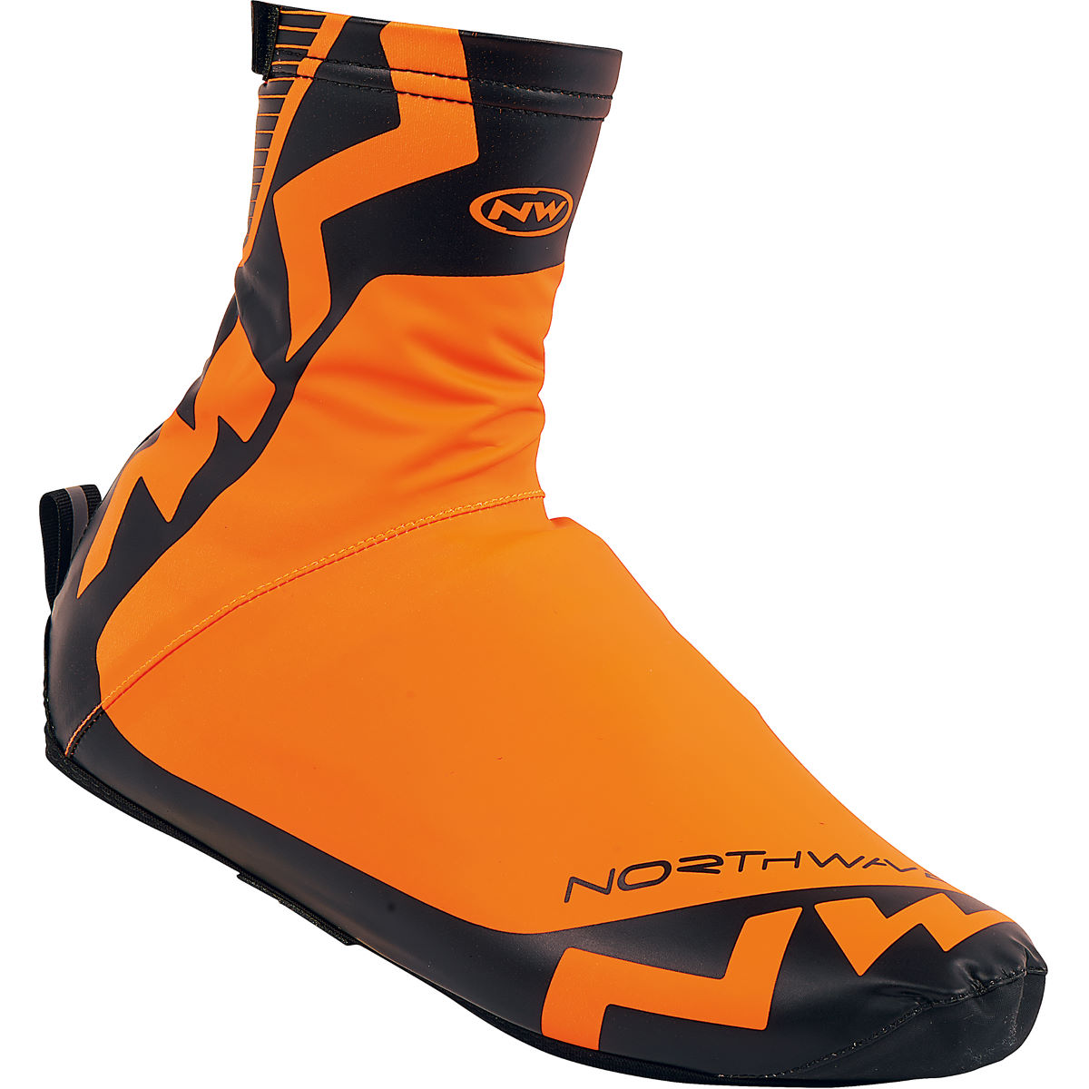 Couvre-chaussures Northwave H2O (Hiver) - S Orange Fluro/Black