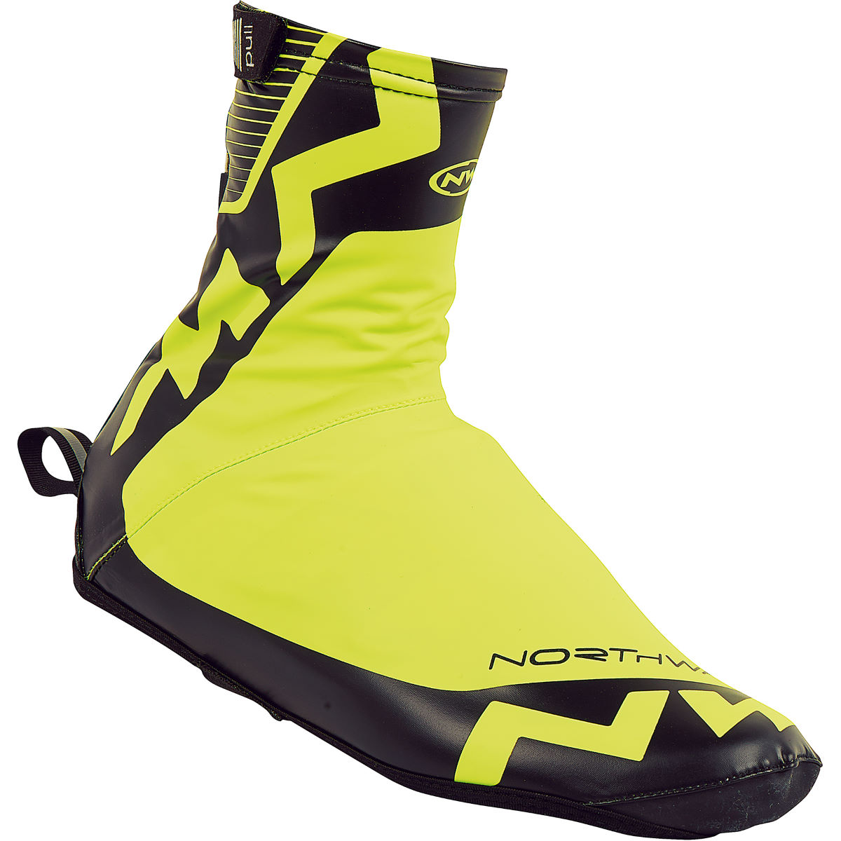 Couvre-chaussures Northwave H2O (Hiver) - S Yellow Fluro/Black