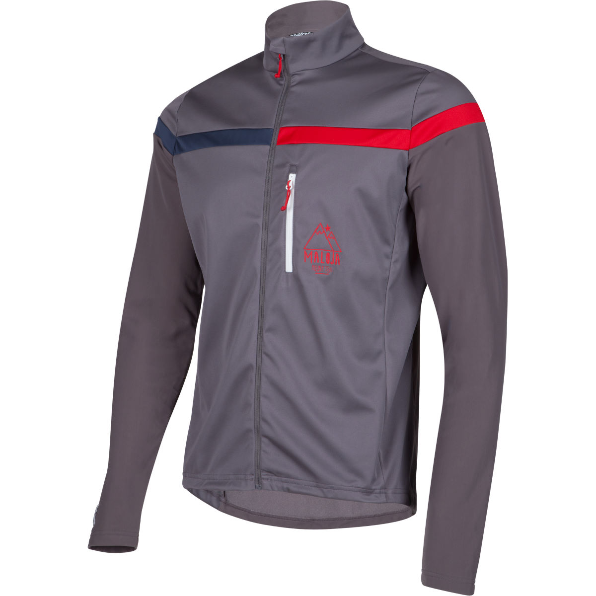 Veste Maloja MuntacM. Cross Country - XXL Dark Cloud Coupe-vents vélo