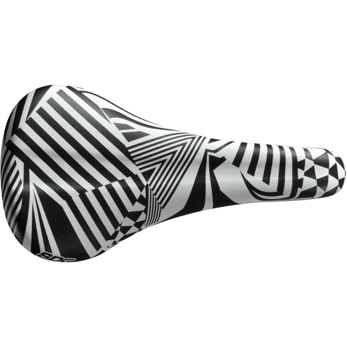 Selle SDG Bel Air 2.0 (gamme Dazzle) - W 140mm Noir/Blanc Selles performance
