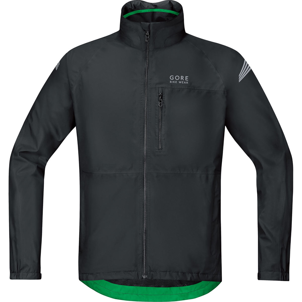 Veste Gore Bike Wear Element Gore-Tex - S Noir Vestes imperméables vélo