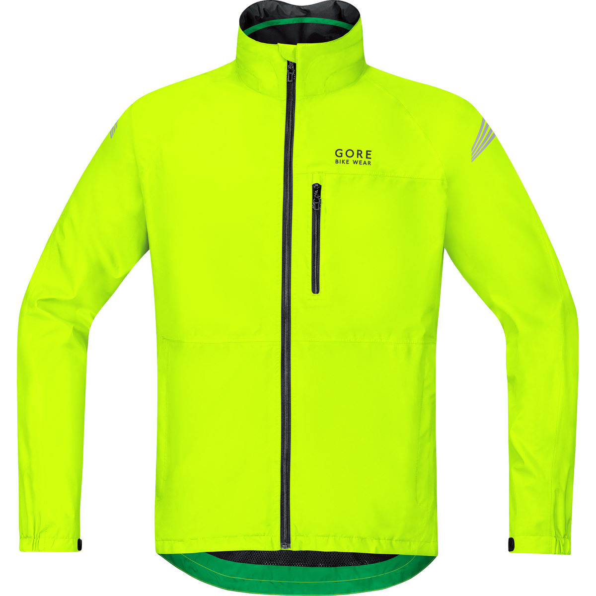Veste Gore Bike Wear Element Gore-Tex - S Neon Yellow Vestes imperméables vélo