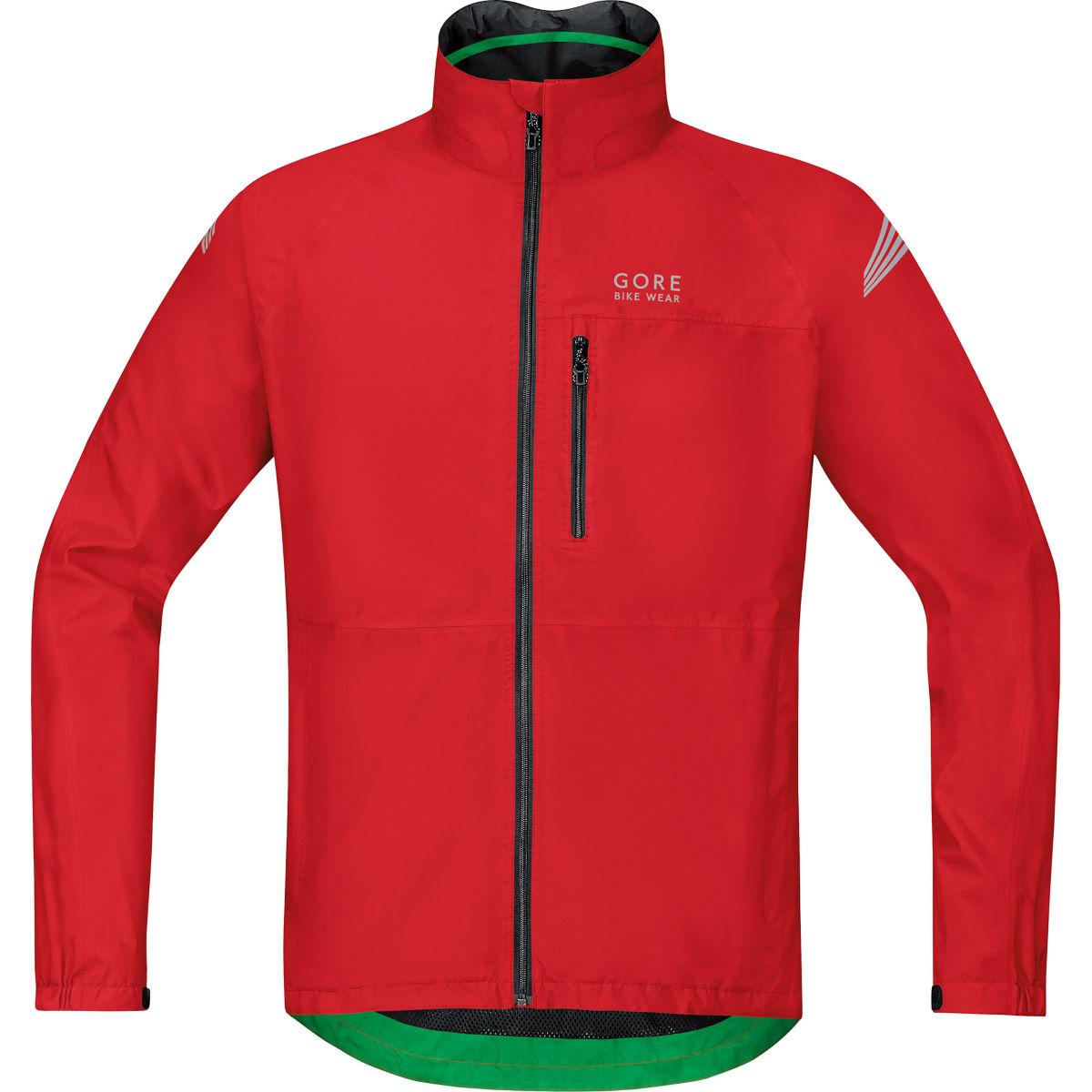 Veste Gore Bike Wear Element Gore-Tex - S Rouge Vestes imperméables vélo