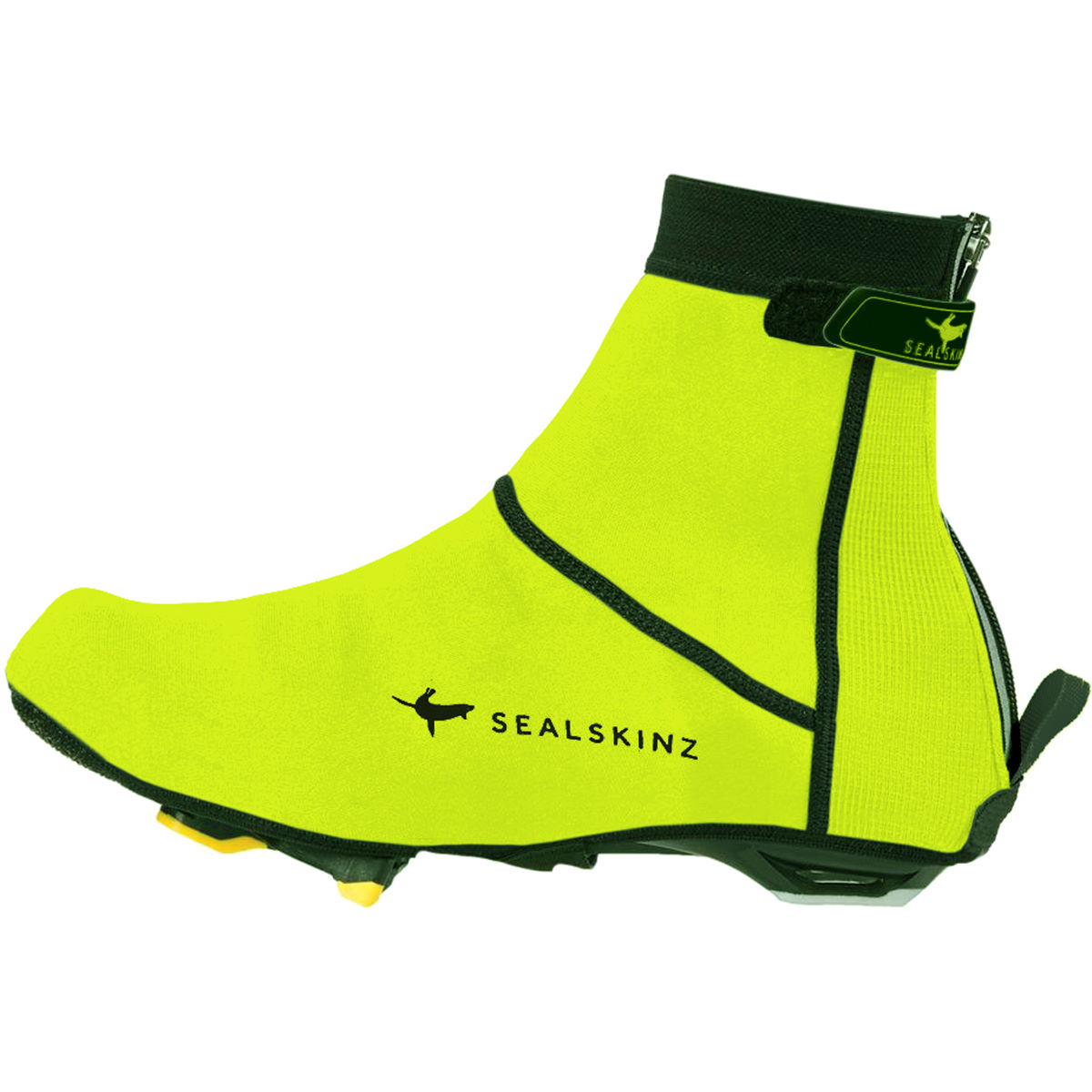 Cubrezapatillas de neopreno de suela abierta SealSkinz High-Vis - Cubrezapatillas