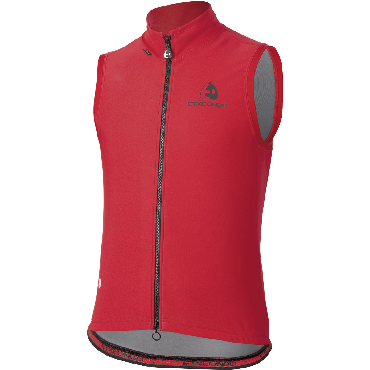 Gilet sans manches Etxeondo Team Edition Windstopper - S Rouge Gilets vélo
