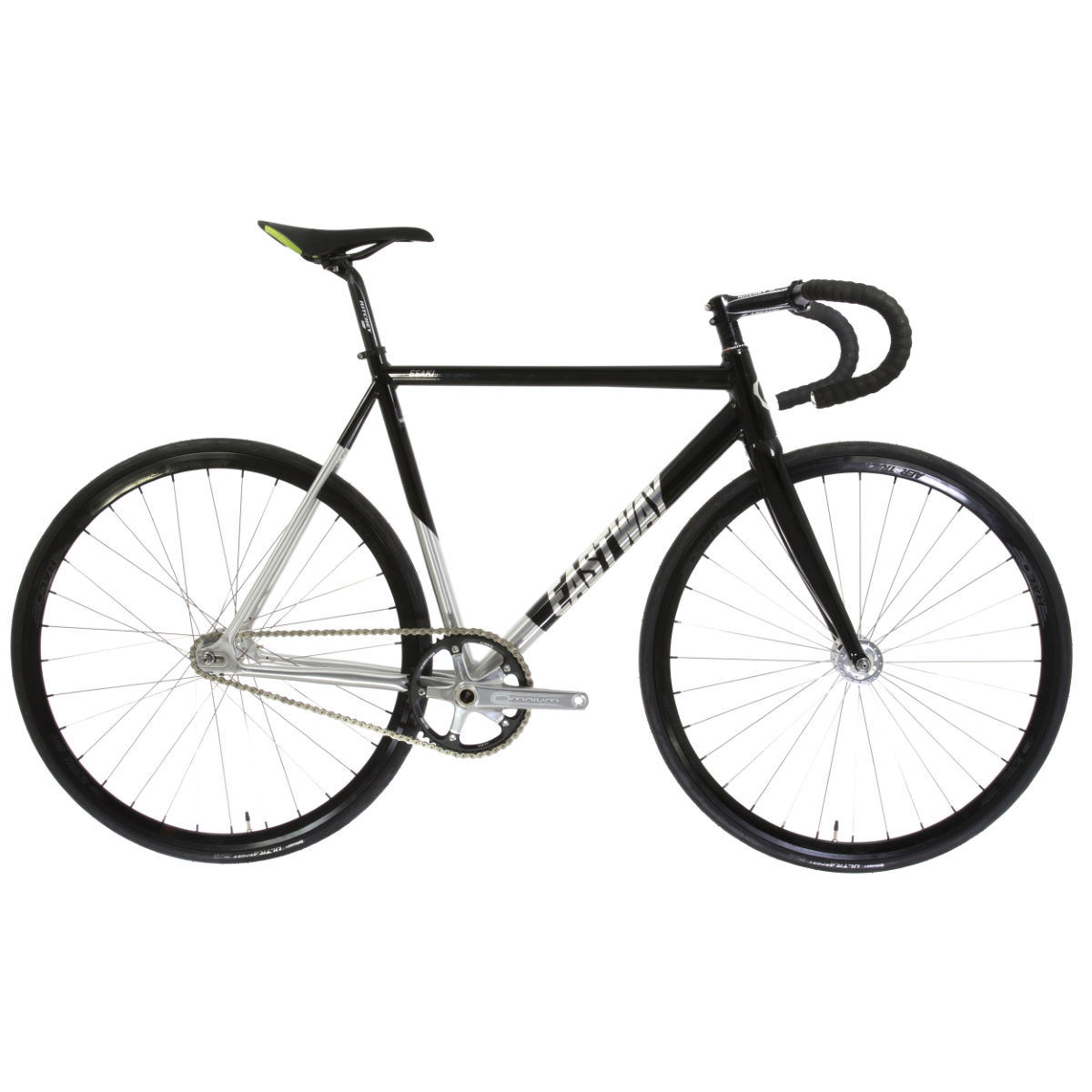 Vélo de piste Eastway Esaki T1 (2016) - 52cm Noir/Argenté Single speed