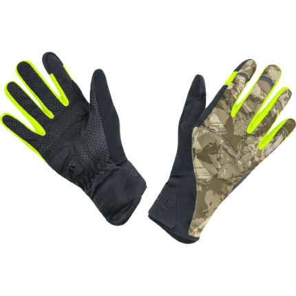Gore Bike Wear Element Urban Print Windstopper Gloves