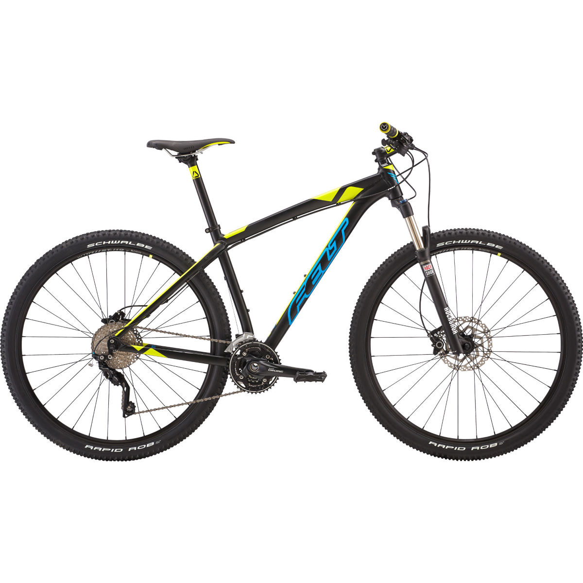 VTT Felt Nine 50 (2017) - 22'' Matte Black/Blue VTT semi-rigides