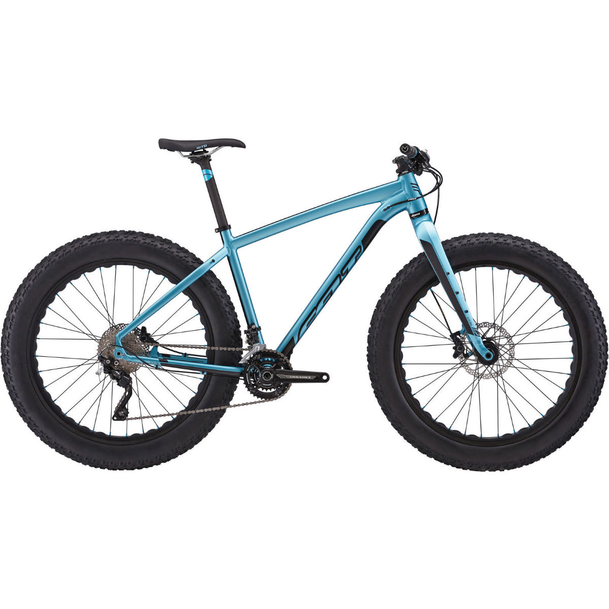 VTT Fat Bike Felt DD 30 (2016) - L Satin Steel Blue VTT semi-rigides