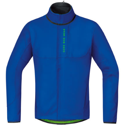 Gore Bike Wear Power Trail Windstopper Softshell Thermo Jacka - Herr