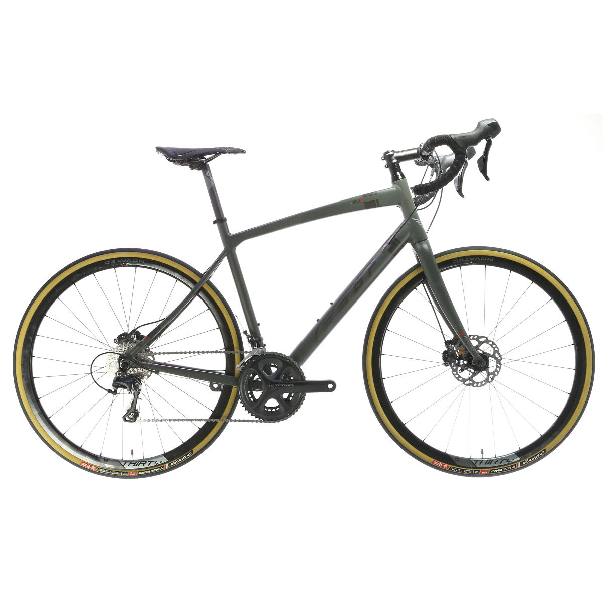 Vélo de route Felt V55 (2016) - 43cm Grey/Black/Red Vélos de route