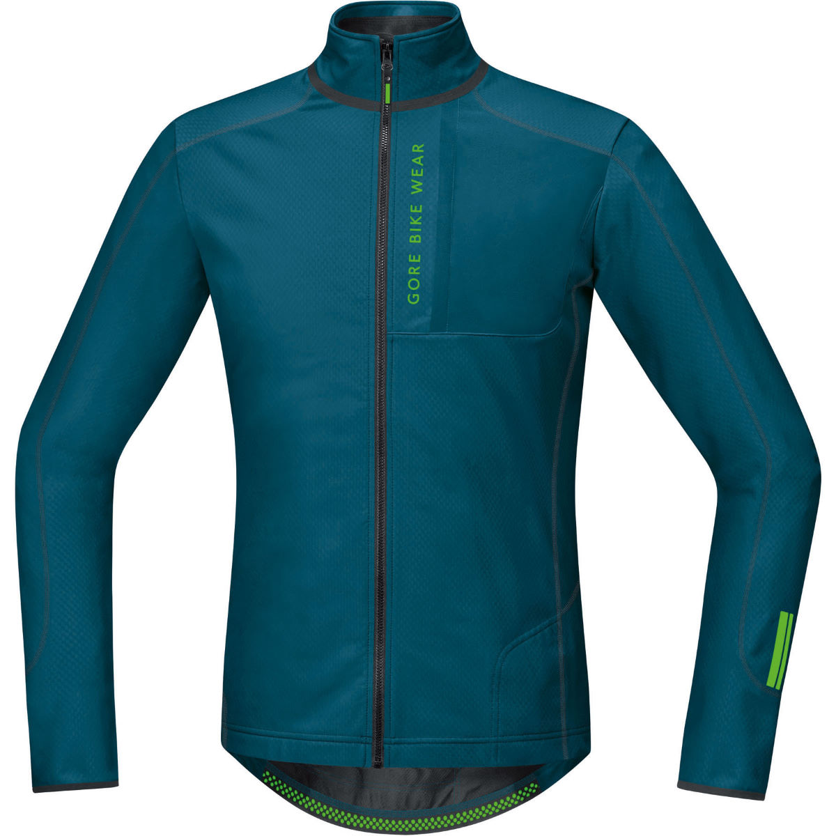 Gore Bike Wear Power Trail Thermo Long Sleeve Jersey - Ink Blue