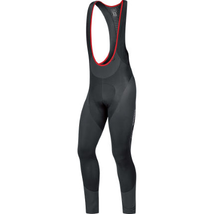 Cuissard long à bretelles Gore Bike Wear Oxygen Partial Thermo