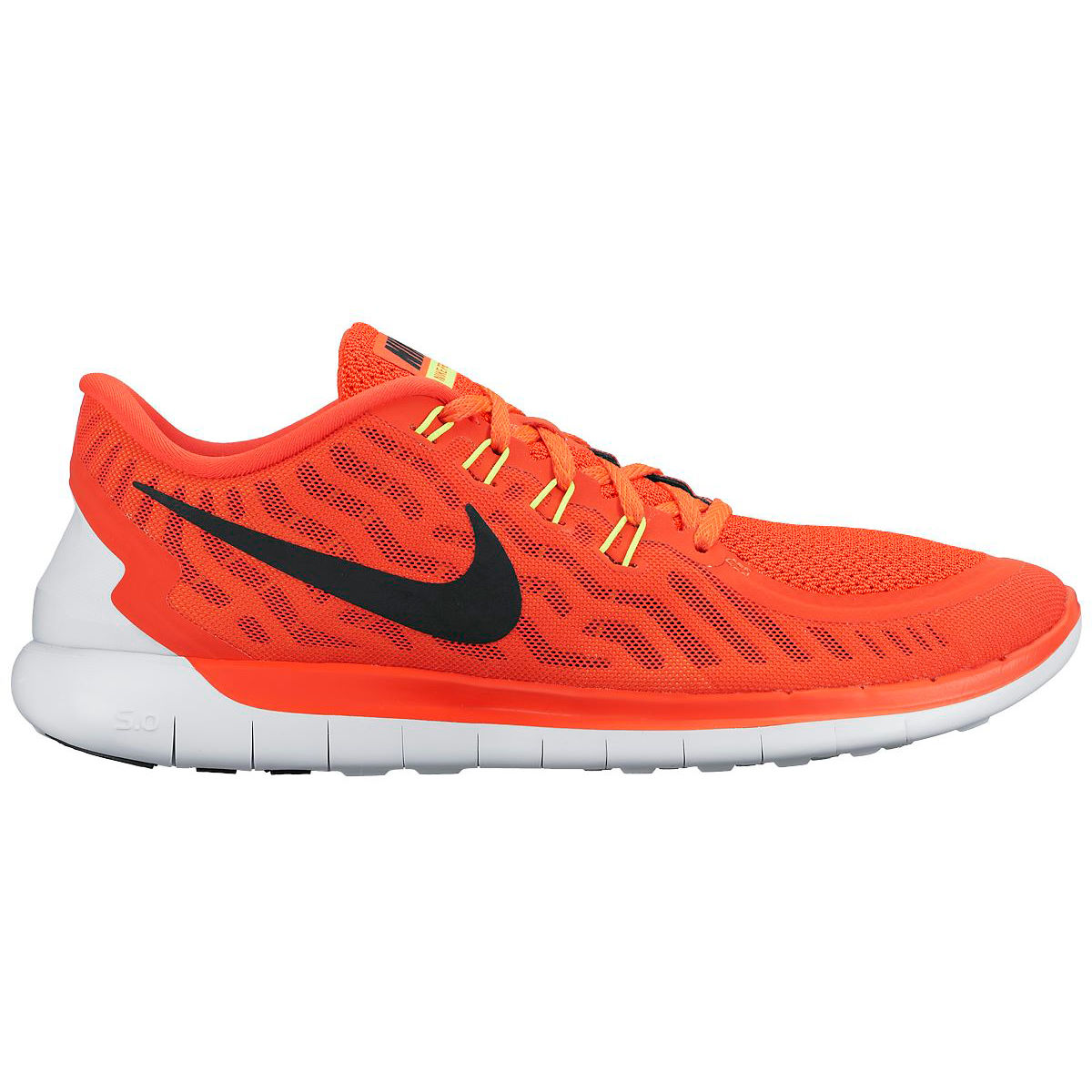 Nike Free Orange Shoes