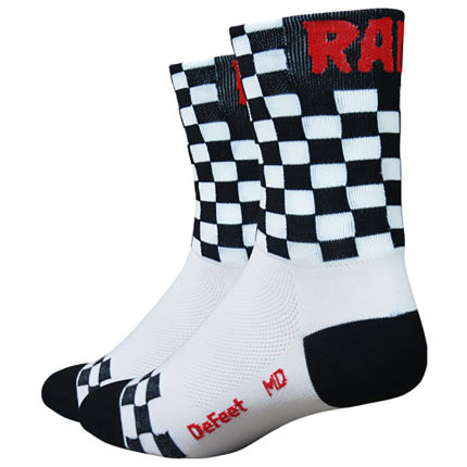 Calcetines DeFeet Aireator Black Checkmate