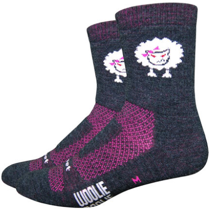 DeFeet Women's Baaad Sheep Socks