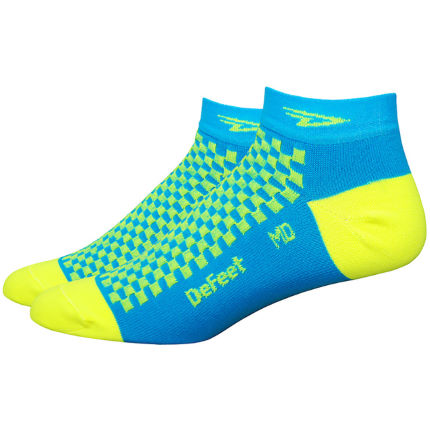 DeFeet Speede Checkerboard Radsocken