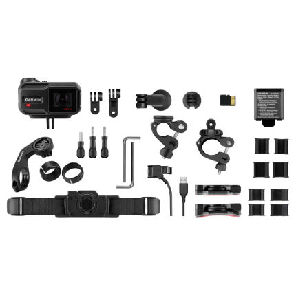 Garmin VIRB XE Action Camera Cycling Bundle