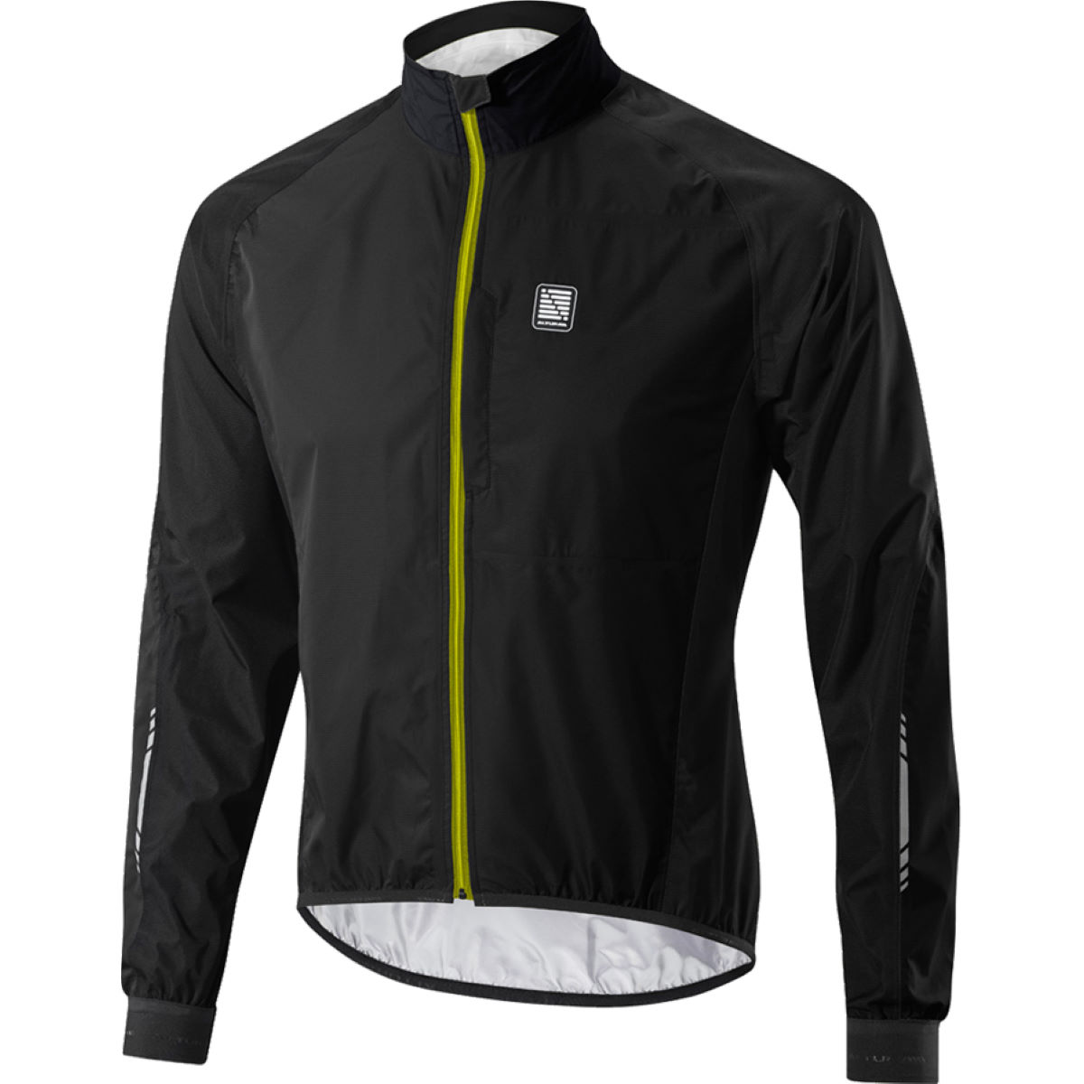 Altura Peloton Waterproof Jacket - Extra Extra Large Black/Yellow