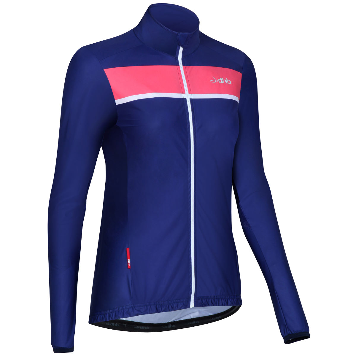 Veste coupe-vent Femme dhb Classic - 8 UK Navy/Pink Coupe-vents vélo