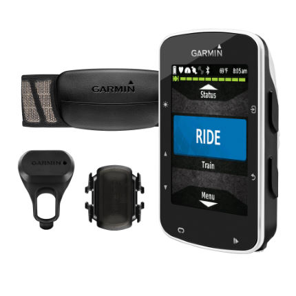 Garmin Edge 520 GPS Cycle Computer with HRM and Cadence-AU