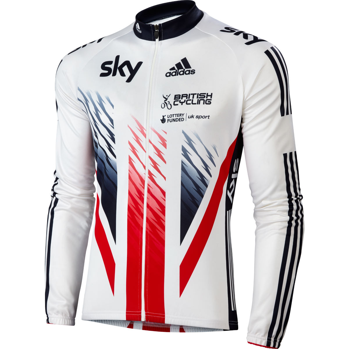 Adidas Cycling British Cycling Long Sleeve Jersey
