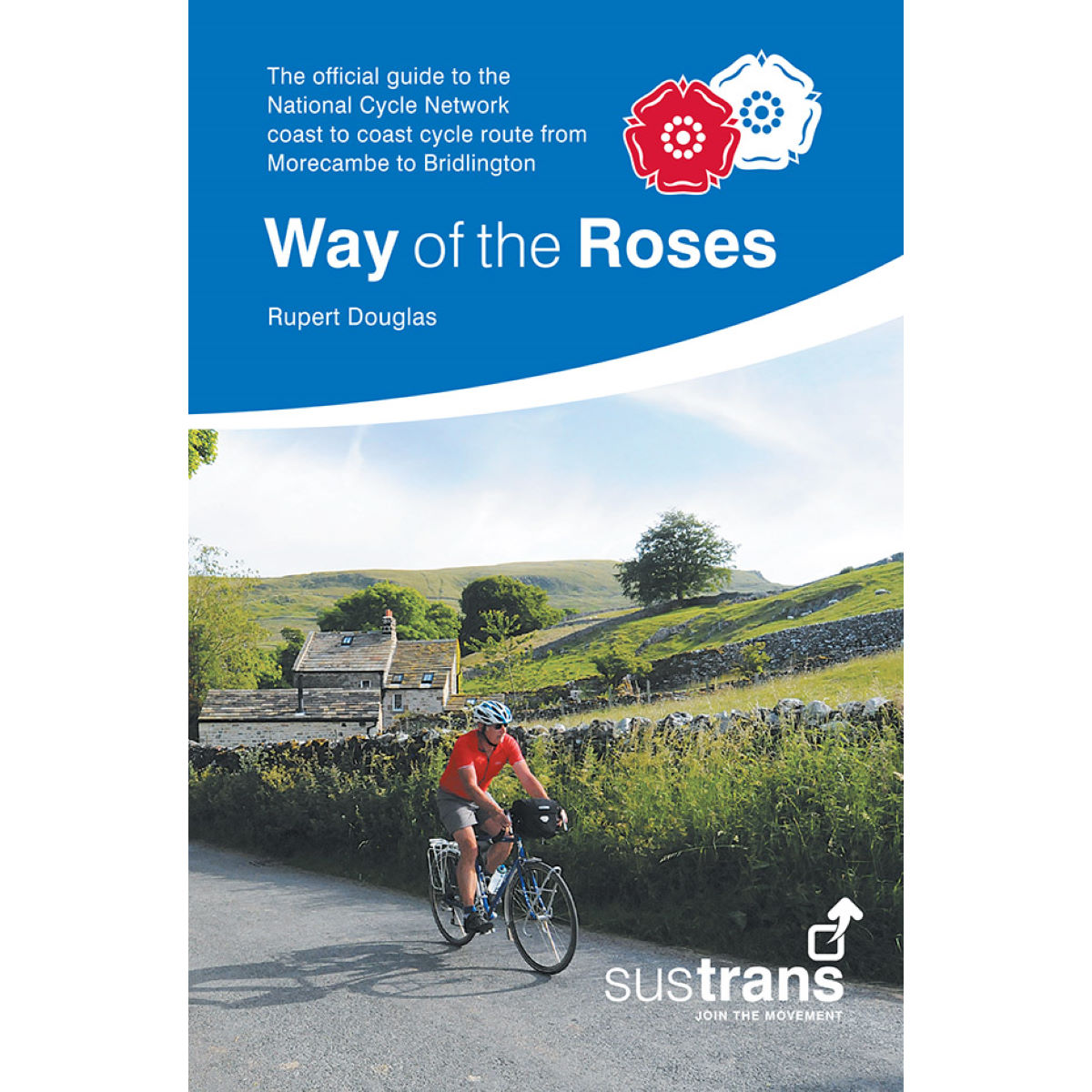 Topo-guide vélo Sustrans Way of the Roses Livres & cartes