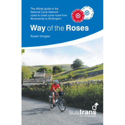 Sustrans Way of the Roses Radstreckenkarte
