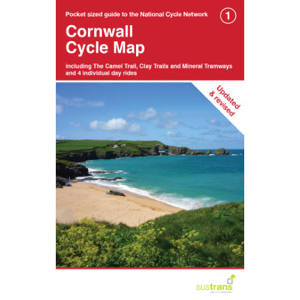 Sustrans Cornwall Cycle Map