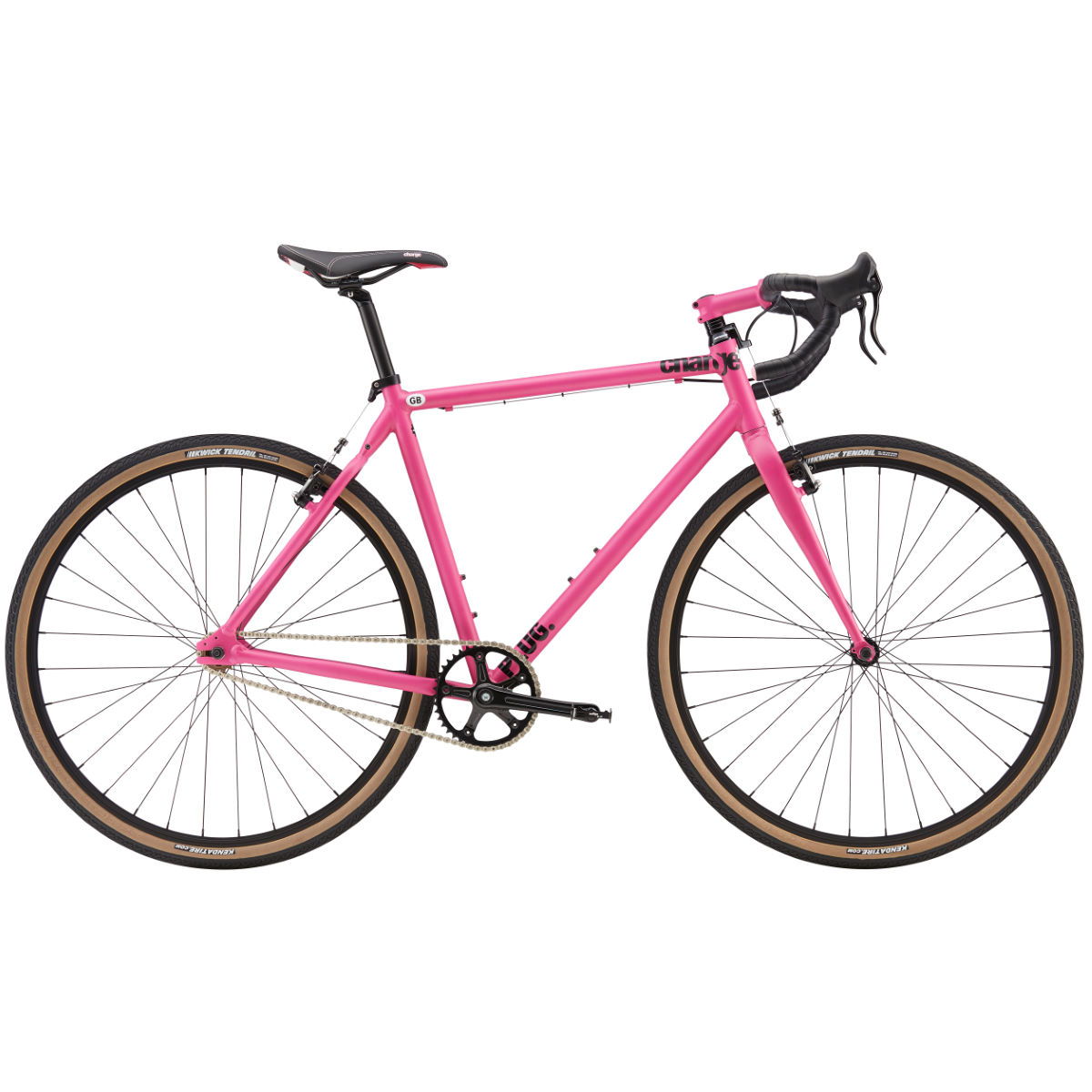 Vélo single-speed Charge Plug 1 (2016) - XL Rose Single speed