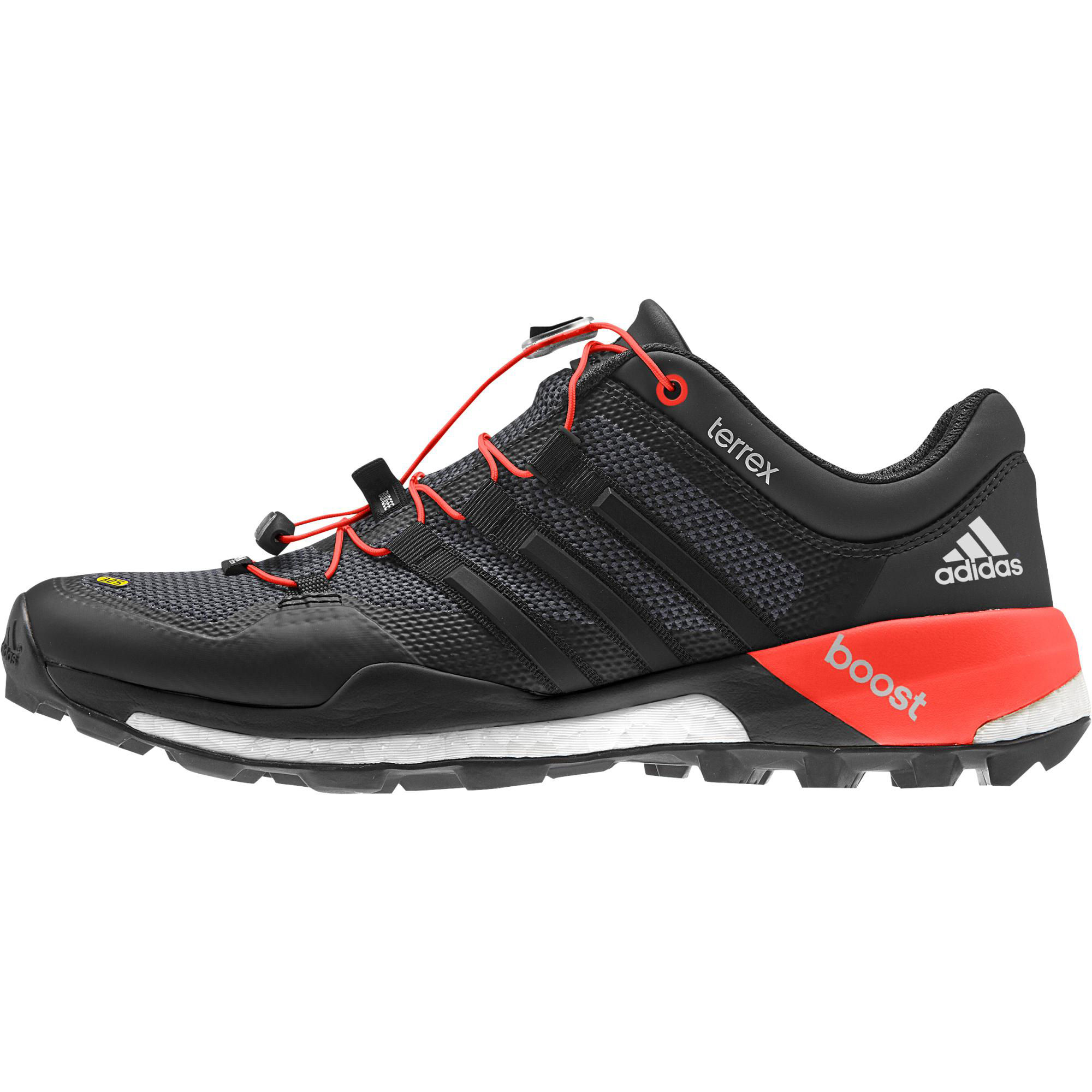 Red And Black Adidas Running Shoes