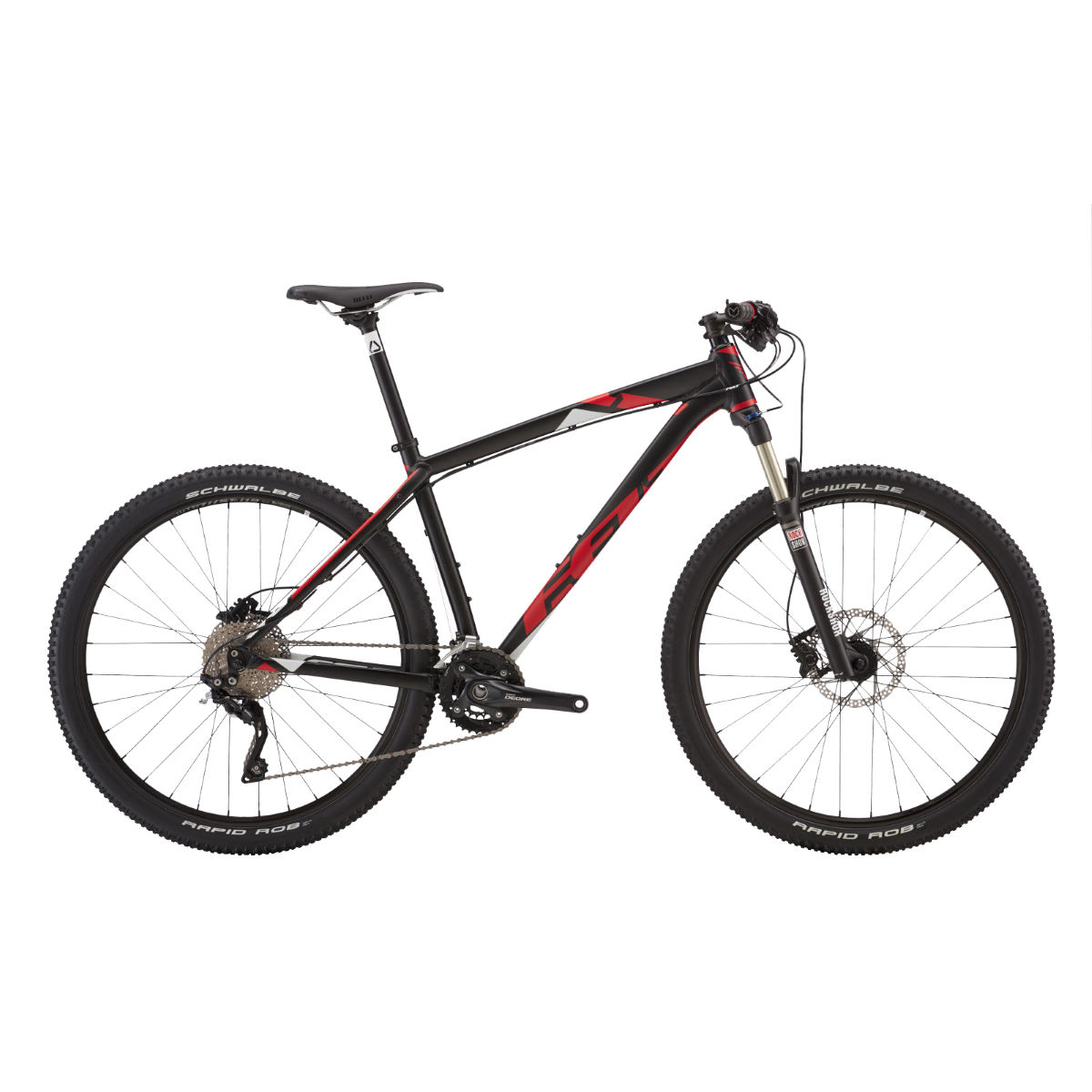VTT Felt 7 Thirty (2016) - 16'' Noir/Rouge VTT semi-rigides