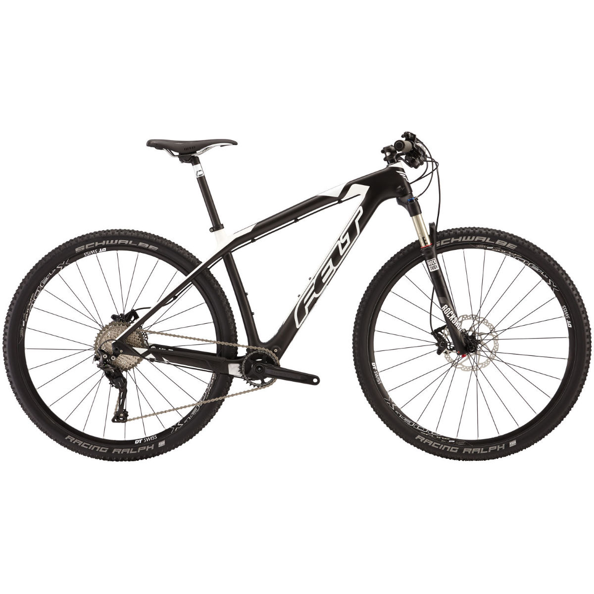 VTT Felt Nine 2 (2016) - 14'' Carbon/White VTT semi-rigides