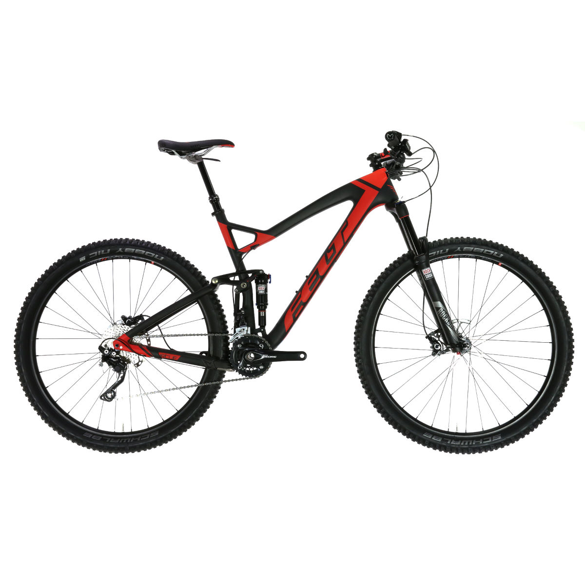 VTT Felt Virtue 3 (2016) - 18'' Carbon/Red VTT tout suspendu