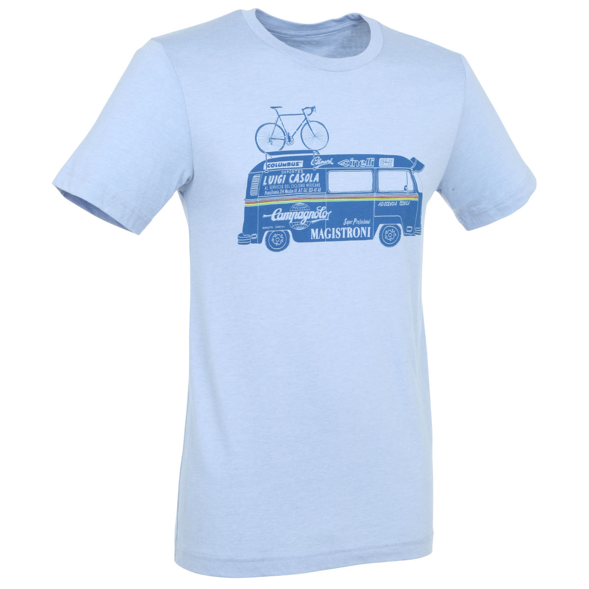 T-shirt Endurance Conspiracy Campy Van inspired by Campagnolo - S