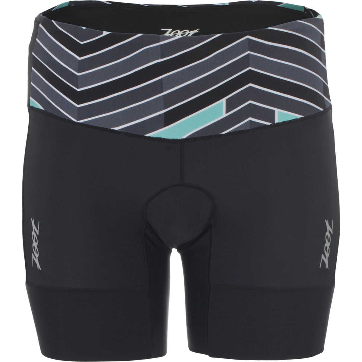 Cuissard de triathlon Femme Zoot Performance (15,2 cm, 2016) - XS Waves/Black Cuissards de triathlon