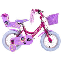 """picture of Raleigh MOLLI 14"""" Pink/Purple One Size Stock Bike"""
