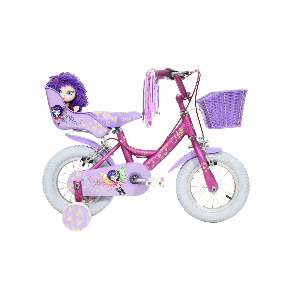 Vélo Enfant Raleigh MOLLI 12 (2016) - 12'' Wheel Pink/Purple
