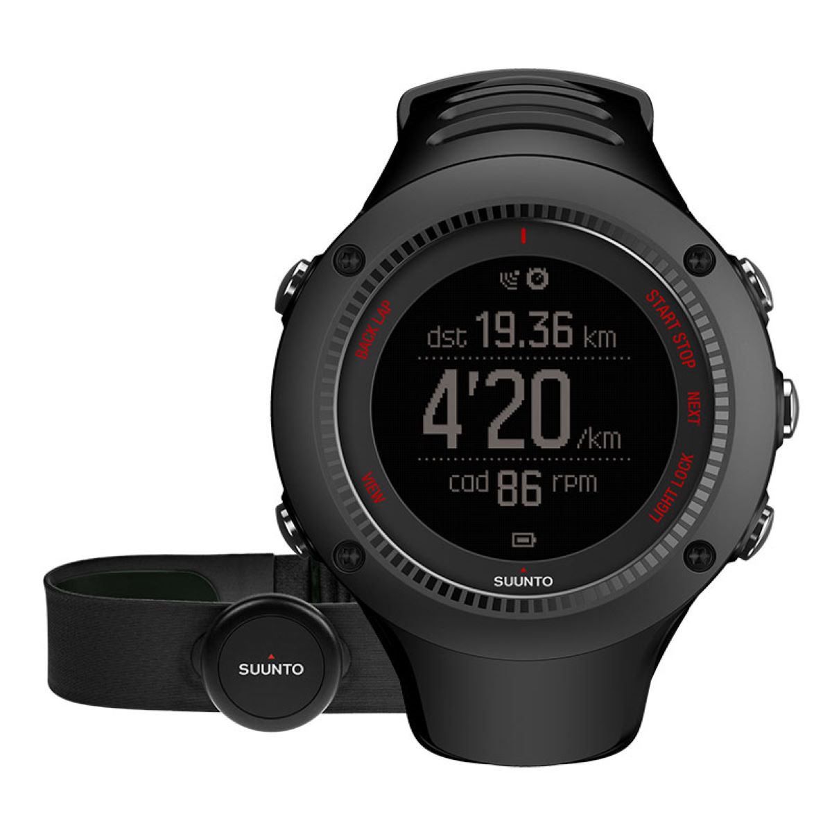 Suunto Ambit 3 Run HR (con pulsómetro) (color negro)