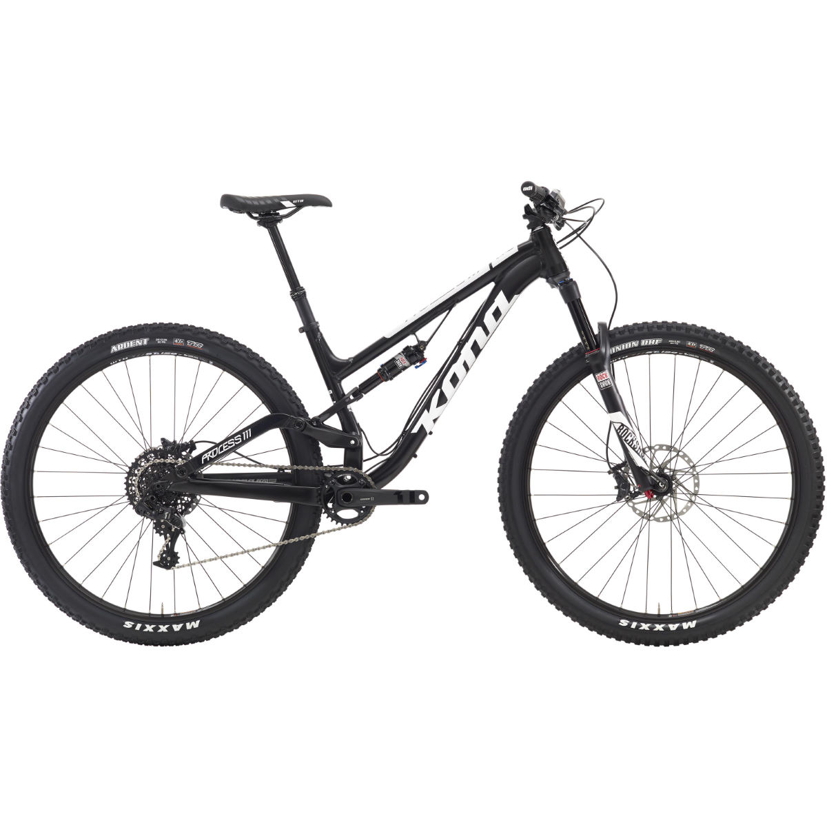 VTT Kona Process 111 (2016) - S Stock Bike Matte Black